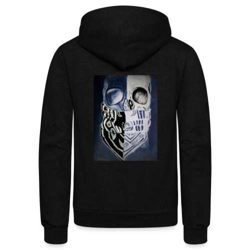 True thug for life - Unisex Fleece Zip Hoodie