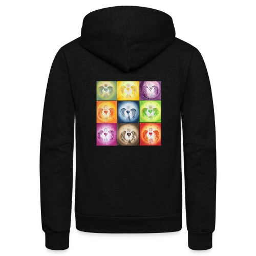 Heartangel Mix - Unisex Fleece Zip Hoodie