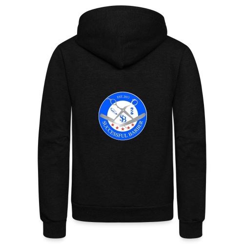 Successful Barber Seal - Unisex Fleece Zip Hoodie