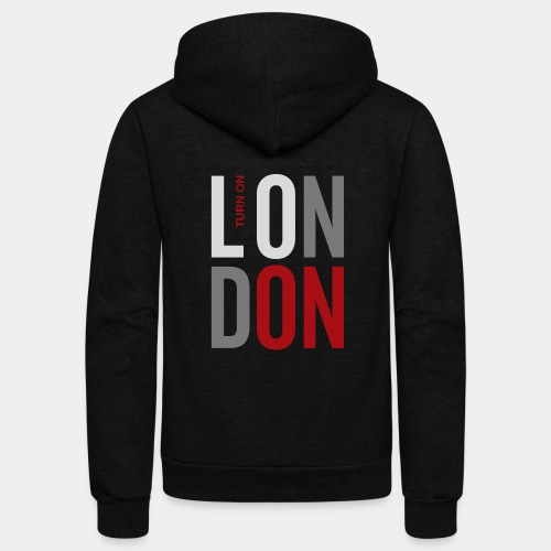 london england great britain - Unisex Fleece Zip Hoodie