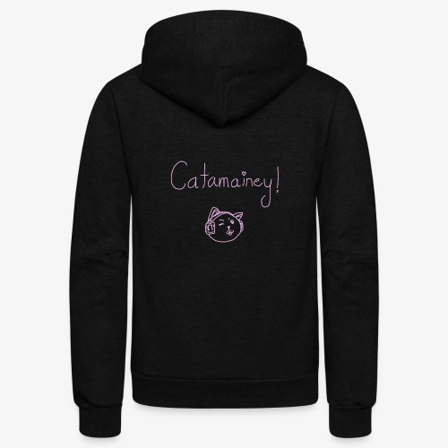 Catamainey Mascot - Unisex Fleece Zip Hoodie