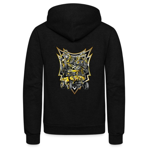 Extreme Off-Road Life - Unisex Fleece Zip Hoodie