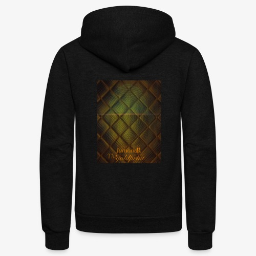 JumondR The goldprint - Unisex Fleece Zip Hoodie