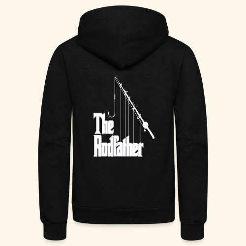 Rodfather - Unisex Fleece Zip Hoodie
