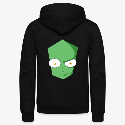Cool Martian - Unisex Fleece Zip Hoodie