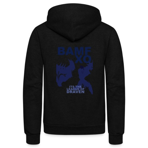 DRAV copy png - Unisex Fleece Zip Hoodie