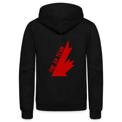 The Eh Team Red - Unisex Fleece Zip Hoodie