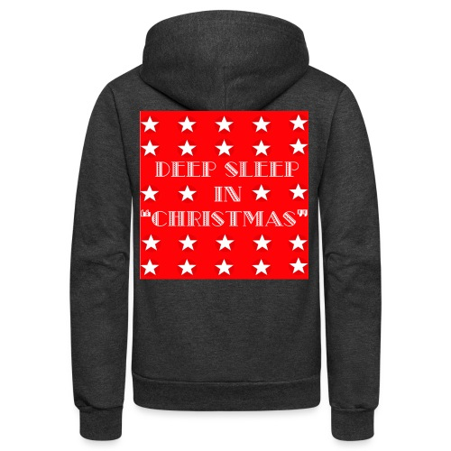 Christmas theme - Unisex Fleece Zip Hoodie