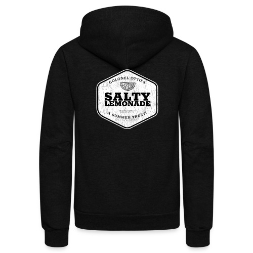 salty lemonade aged - Unisex Fleece Zip Hoodie