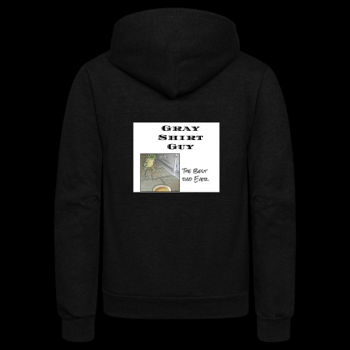 Official gray shirt guys shirt - Unisex Fleece Zip Hoodie