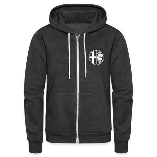 D & D AR + Shield Positive - Unisex Fleece Zip Hoodie
