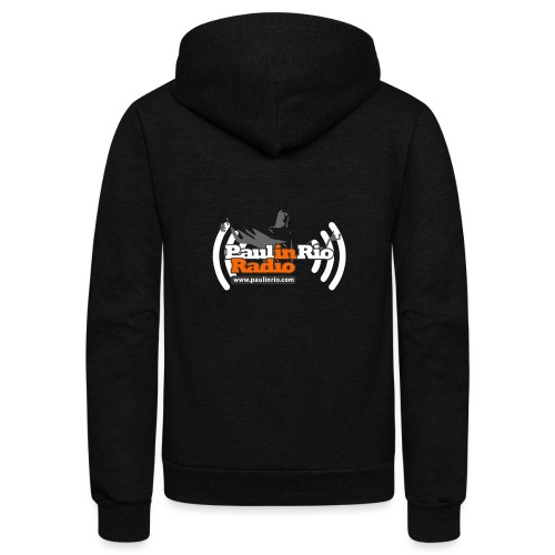 Paul in Rio Radio - Thumbs-up Corcovado #1 - Unisex Fleece Zip Hoodie