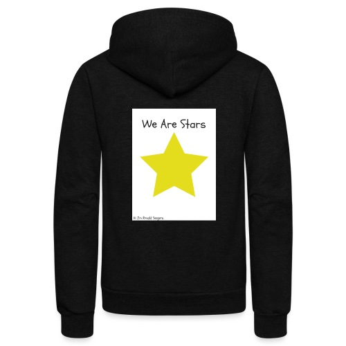 Hi I'm Ronald Seegers Collection-We Are Stars - Unisex Fleece Zip Hoodie