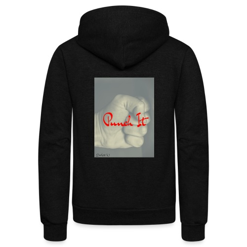 Punch it by Duchess W - Unisex Fleece Zip Hoodie
