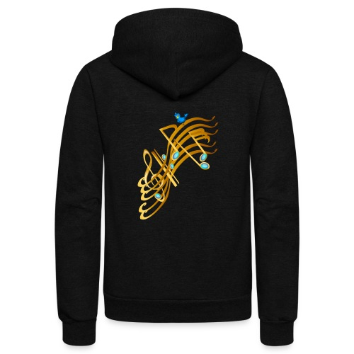 Golden Notes - Unisex Fleece Zip Hoodie