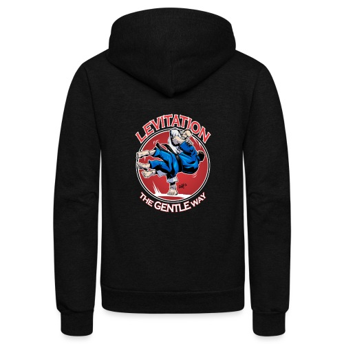 Judo Levitation for dark shirt - Unisex Fleece Zip Hoodie
