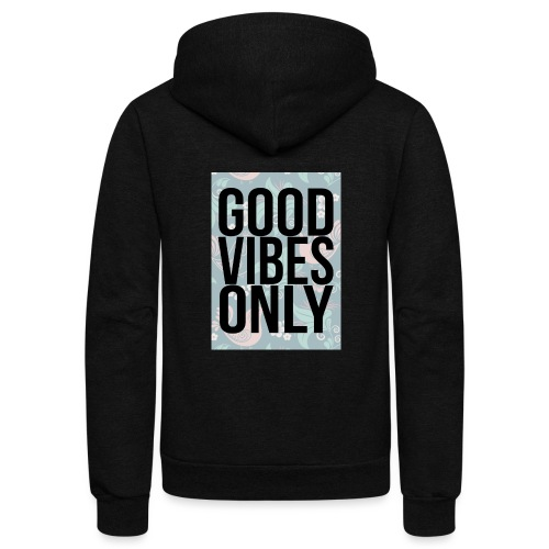 good vibes only birds - Unisex Fleece Zip Hoodie