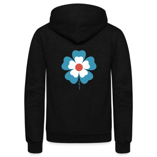 flower time - Unisex Fleece Zip Hoodie