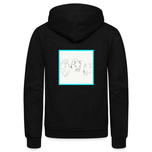 Cartoons - Unisex Fleece Zip Hoodie