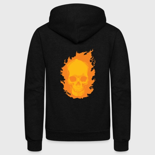 Ghost Rider - Unisex Fleece Zip Hoodie