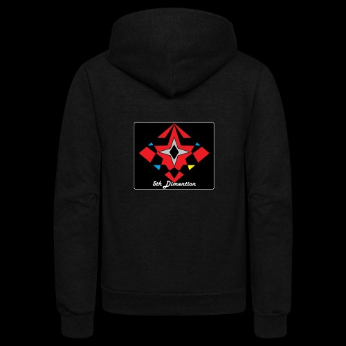 5th dimension - Unisex Fleece Zip Hoodie