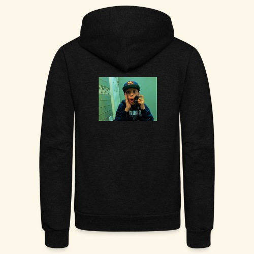 Pj Vlogz Merch - Unisex Fleece Zip Hoodie