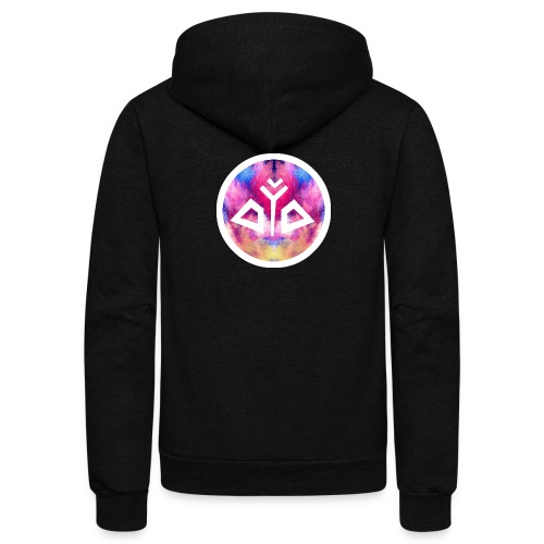 True Identity Logo ColorPowder Collection - Unisex Fleece Zip Hoodie