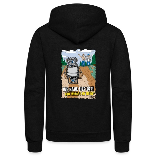 Beer Buggy Lift Off - Unisex Fleece Zip Hoodie