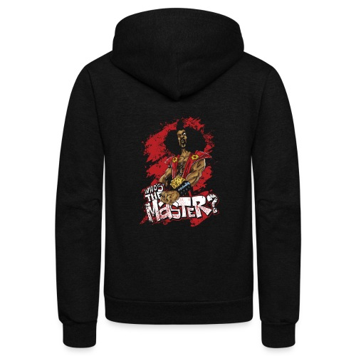 Who's The Master? - Unisex Fleece Zip Hoodie