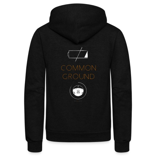 Common Ground - Unisex Fleece Zip Hoodie