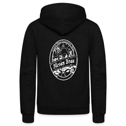 mesanbraucthsingle - Unisex Fleece Zip Hoodie