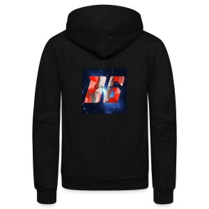 YouTube Logo - Unisex Fleece Zip Hoodie