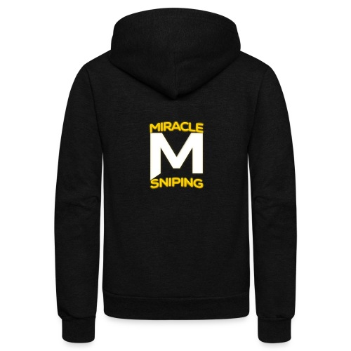 Miracle Sniping - Unisex Fleece Zip Hoodie