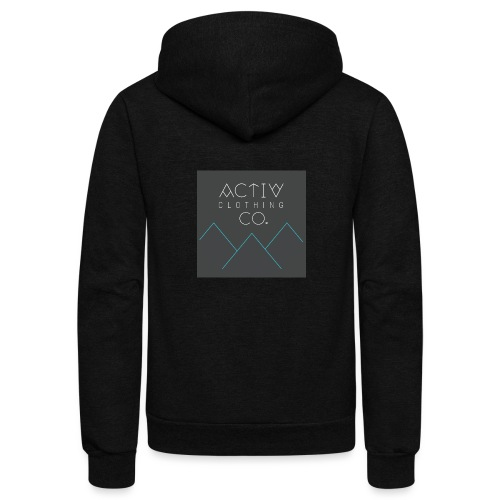 Activ Clothing - Unisex Fleece Zip Hoodie