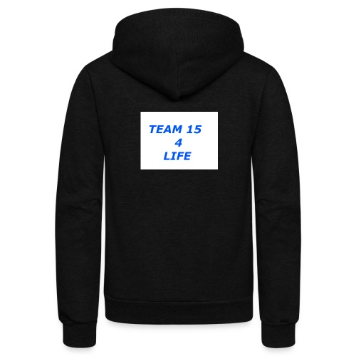 team 15 4 life merch - Unisex Fleece Zip Hoodie