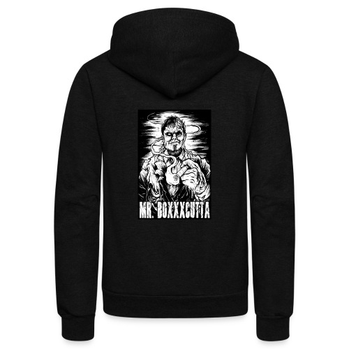 Mr. Boxxxcutta 1 - Unisex Fleece Zip Hoodie