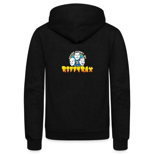 RiffTrax Made Funny By Shirt - Unisex Fleece Zip Hoodie