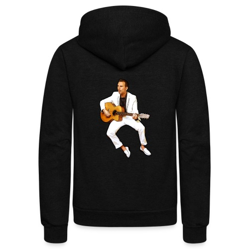Sam Trocki Cartoon - Unisex Fleece Zip Hoodie