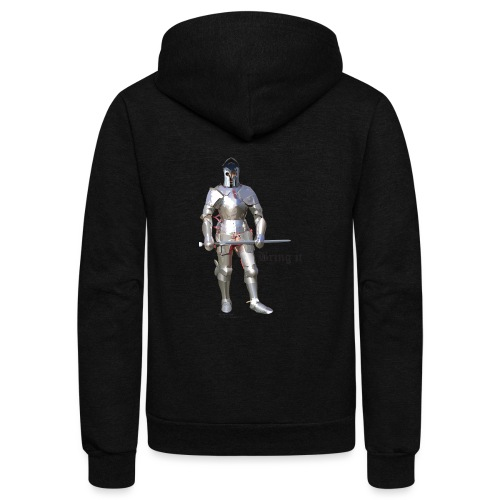Plate Armor Bring it men's standard T - Unisex Fleece Zip Hoodie