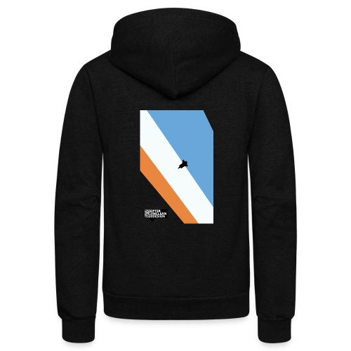ENTER THE ATMOSPHERE - Unisex Fleece Zip Hoodie