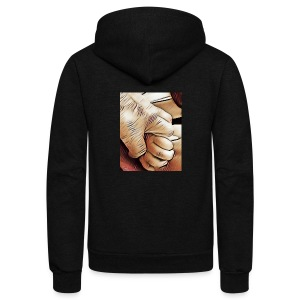 In time of need I'll hold your hand - Unisex Fleece Zip Hoodie