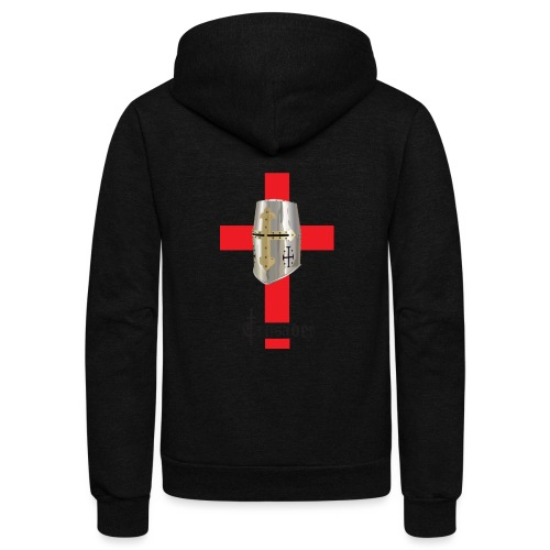 crusader_red - Unisex Fleece Zip Hoodie