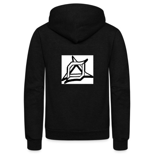 Oma Alliance Black - Unisex Fleece Zip Hoodie