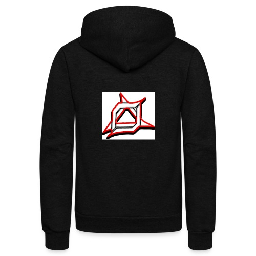 Oma Alliance Red - Unisex Fleece Zip Hoodie