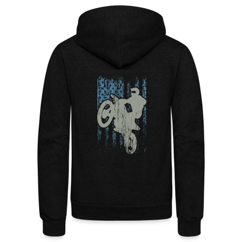 Supercross USA Stunt Racer - Unisex Fleece Zip Hoodie