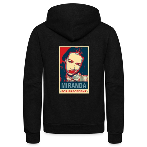 Miranda Sings Miranda For Precedent - Unisex Fleece Zip Hoodie