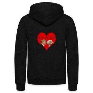 6th Period Sweethearts Government Mr Henry - Unisex Fleece Zip Hoodie by American Apparel