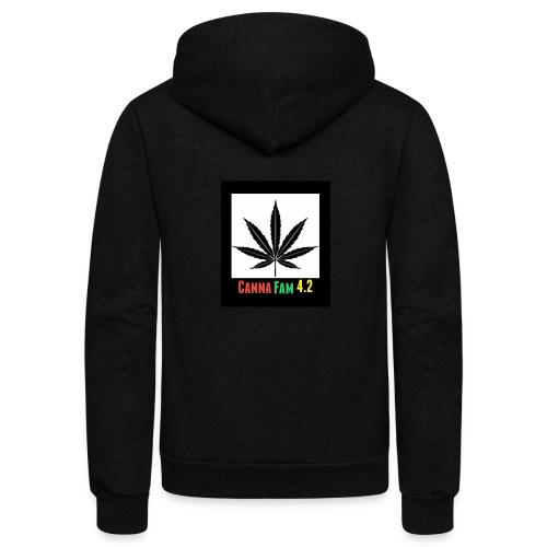 Canna Fams #2 design - Unisex Fleece Zip Hoodie