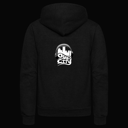 Whiteout Oye City - Unisex Fleece Zip Hoodie