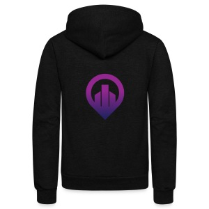 City - Unisex Fleece Zip Hoodie